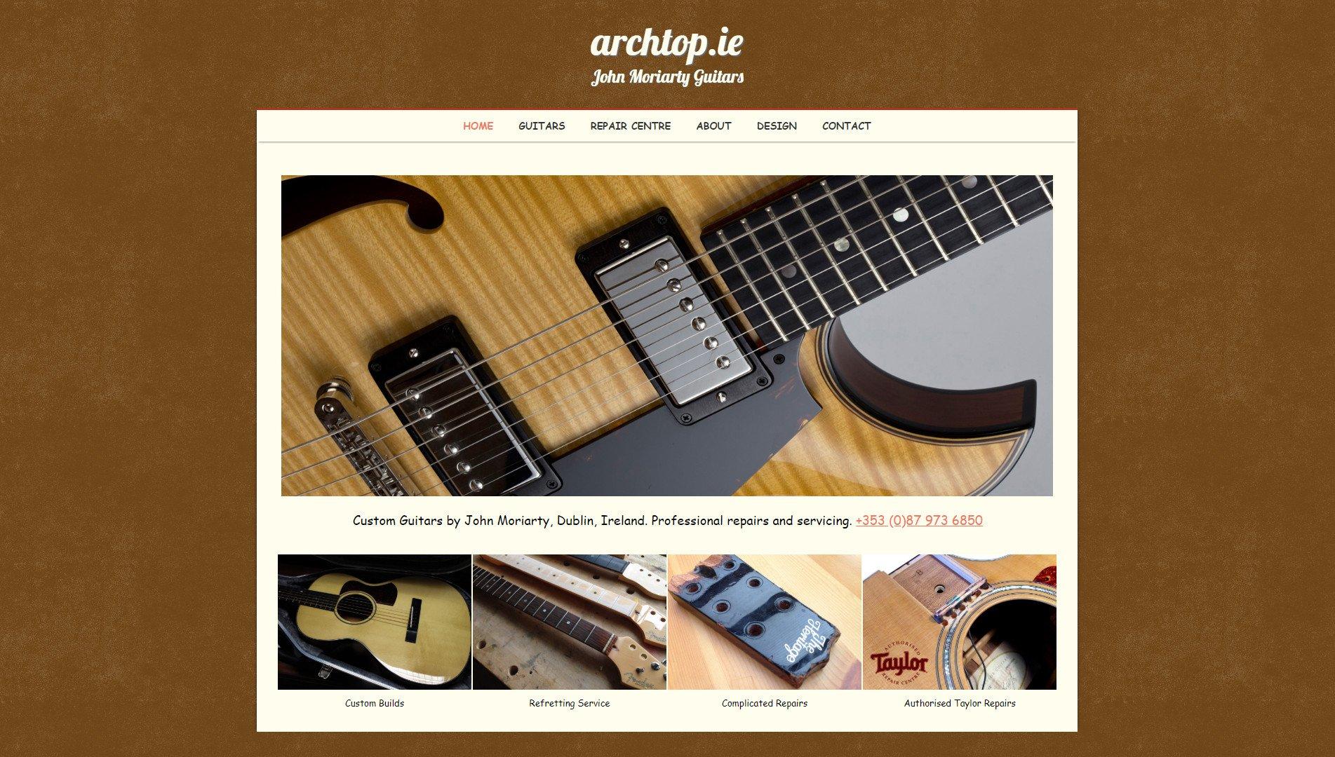 John Moriarty Guitars